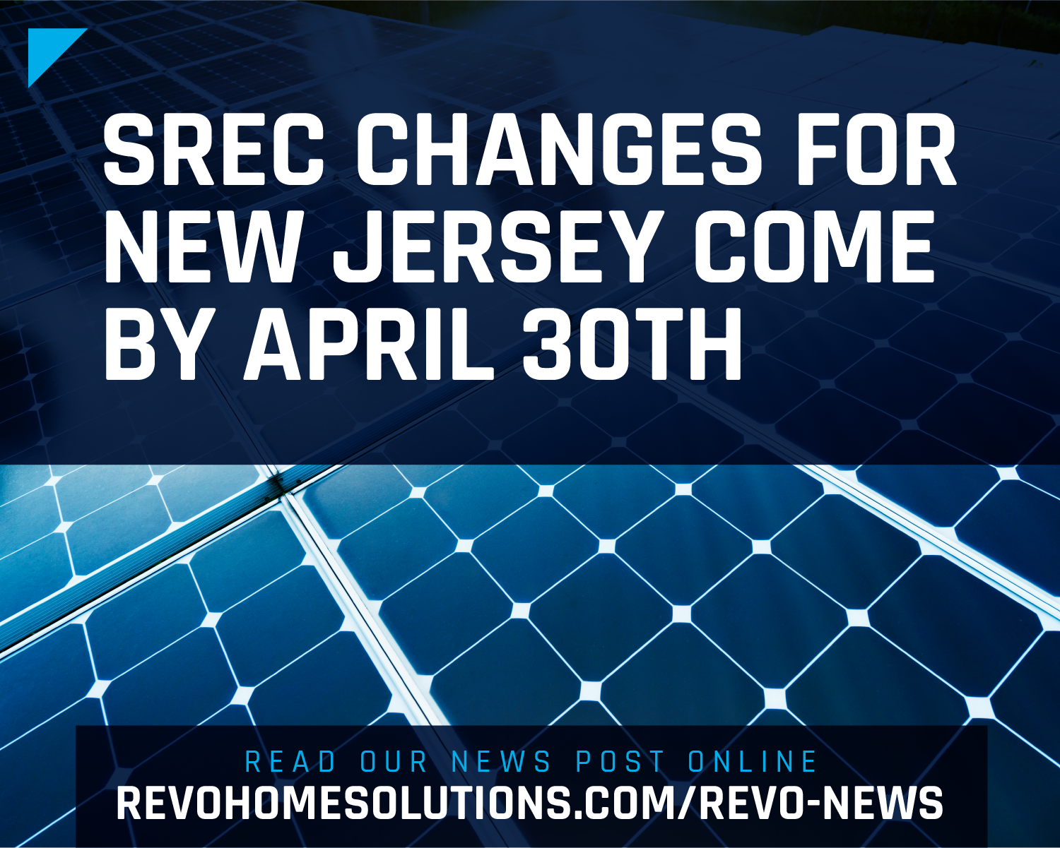 SREC Changes for New Jersey May Come by April 30th