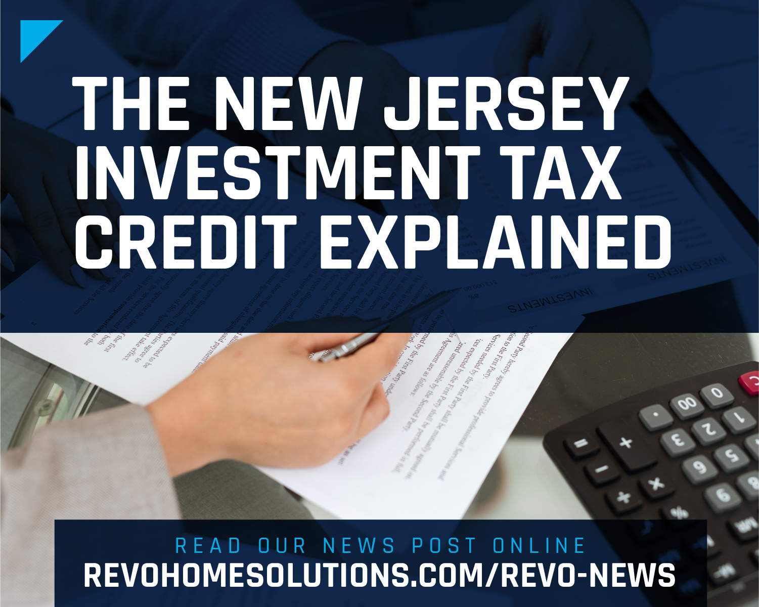The New Jersey Tax Credit Explained